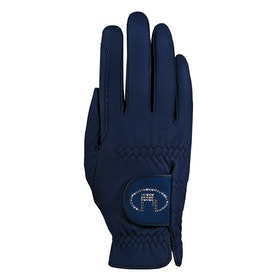 Competition Glove Roeckl Lisboa - Navy