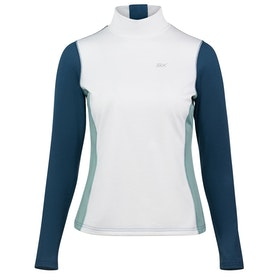B Vertigo BVX Roxana Training Turtleneck Damen Top - White Blue