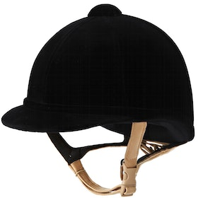 Charles Owen Hampton Velvet Hat - black flesh