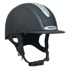 Champion Evolution Puissance Riding Hat - black