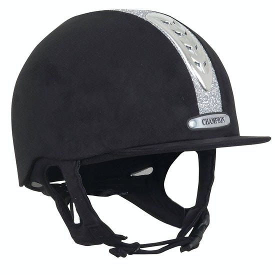Champion Junior X-Air Dazzle Plus Kids Riding Hat