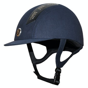 Gatehouse Chelsea Air Flow Pro Suedette Riding Hat - Navy