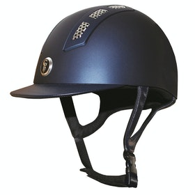 Gatehouse Chelsea Air flow Pro Matt Riding Hat - navy