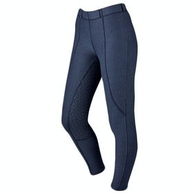 Dublin Performance Warm-It Gel Ladies Riding Tights - Navy
