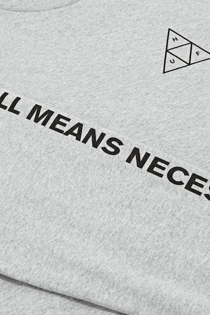Huf Essentials Triple Triangle L S T-Shirt