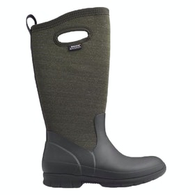 Bogs Crandall Tall Ladies Wellingtons - Choc Multi