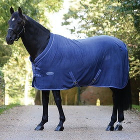 Weatherbeeta Cozi-Dri Standard Neck Cooler Rug - Blue Grey