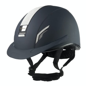 John Whitaker VX2 Sparkly Riding Hat - Navy