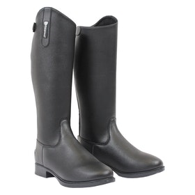 Long Riding Boots Femme Horseware Synthetic Leather - Black