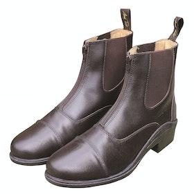 Mark Todd Chetwode Zipped Paddock Boots - Cognac