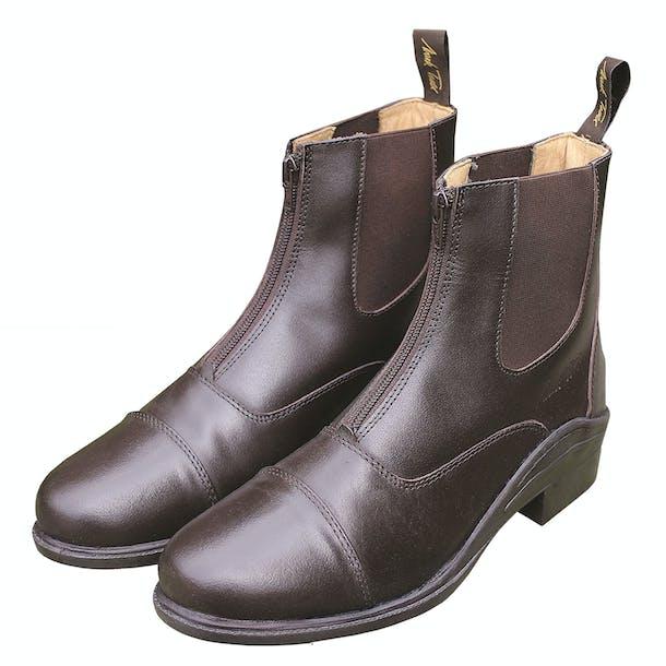 Mark Todd Chetwode Zipped Paddock Boots