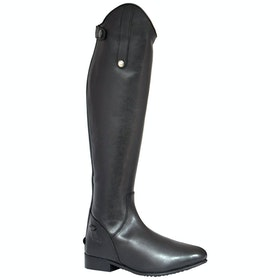 Long Riding Boots Mark Todd Leather - Black