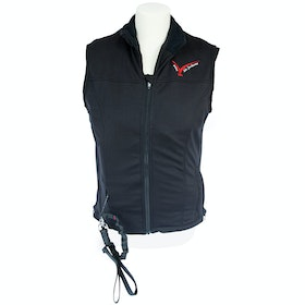 Point Two Soft Shell Gilet Air Jacket Body Protector - black
