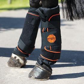 Caneleiras para Terapia Rambo Ionic - Black Orange