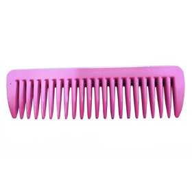 Roma Pulling Mane Comb - Pink