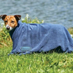 Weatherbeeta Dry Bag Dog Towel - Navy