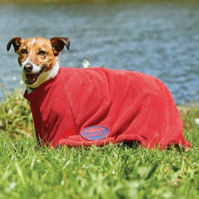 Weatherbeeta Dry Bag Dog Towel - Red