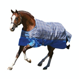 Weatherbeeta ComFiTec Premier Free Lite Standard Neck Turnout Rug - Grey Plaid