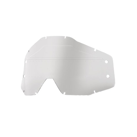 100 Percent Youth Accuri Forecast Lens Sonic Bumps - W/mud Visor Youth Motocross Goggle Lens