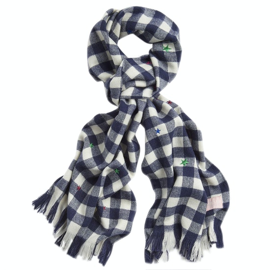 Joules Bracken Luxe Brushed Woven Scarf
