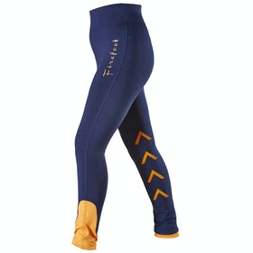 Firefoot Reflective Ripon Ladies Riding Breeches - Navy yellow