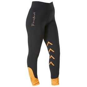 Firefoot Reflective Ripon Childrens Riding Breeches - Black Orange