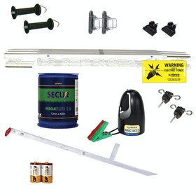 Agrifence Paddock Kit Electric Fencing - White