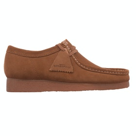 Clarks Originals Wallabee Dress Shoes - Cola
