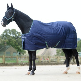Bucas Quilt 300 Stay Dry Stable Rug - Navy