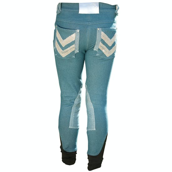 Horseware Denim Kids Riding Breeches