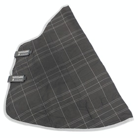 Rhino Original 150G Stable Neck Cover - Charcoal Grey White Check Grey
