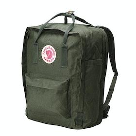 Fjallraven Kanken 15 Laptop Backpack - Forest Green
