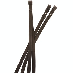 Kincade One Side Rubber Reins - Brown