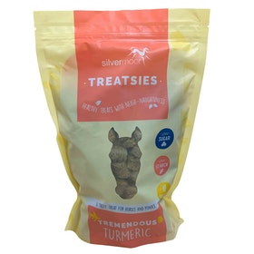 Silvermoor Tremendous Turmeric Treatsies Horse Treats - Brown