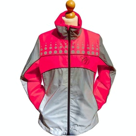 Equisafety Charlotte Dujardin Mercury II Childrens Reflective Jacket - Pink