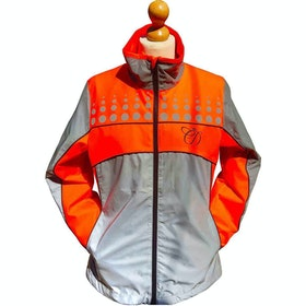 Chaqueta reflectante Niño Equisafety Charlotte Dujardin Mercury II - Red Orange