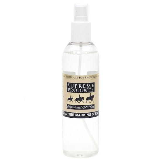 Supreme Products Quarter Marking Spray Show-Vorbereitung