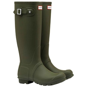 Hunter Original Tall Ladies Wellington Boots - Dark Olive