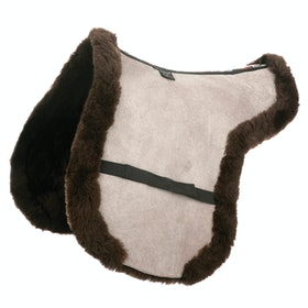 Tapis de selle LeMieux Lambskin Working Hunter Showing - Brown