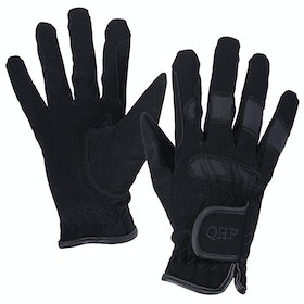 QHP Multi Winter Kids Riding Gloves - Black