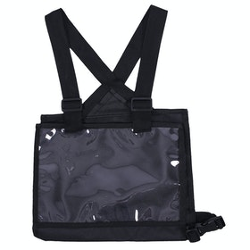 QHP Number Bib for Competition Jackets - Black