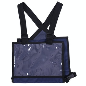 QHP Number Bib for Competition Jackets - Navy