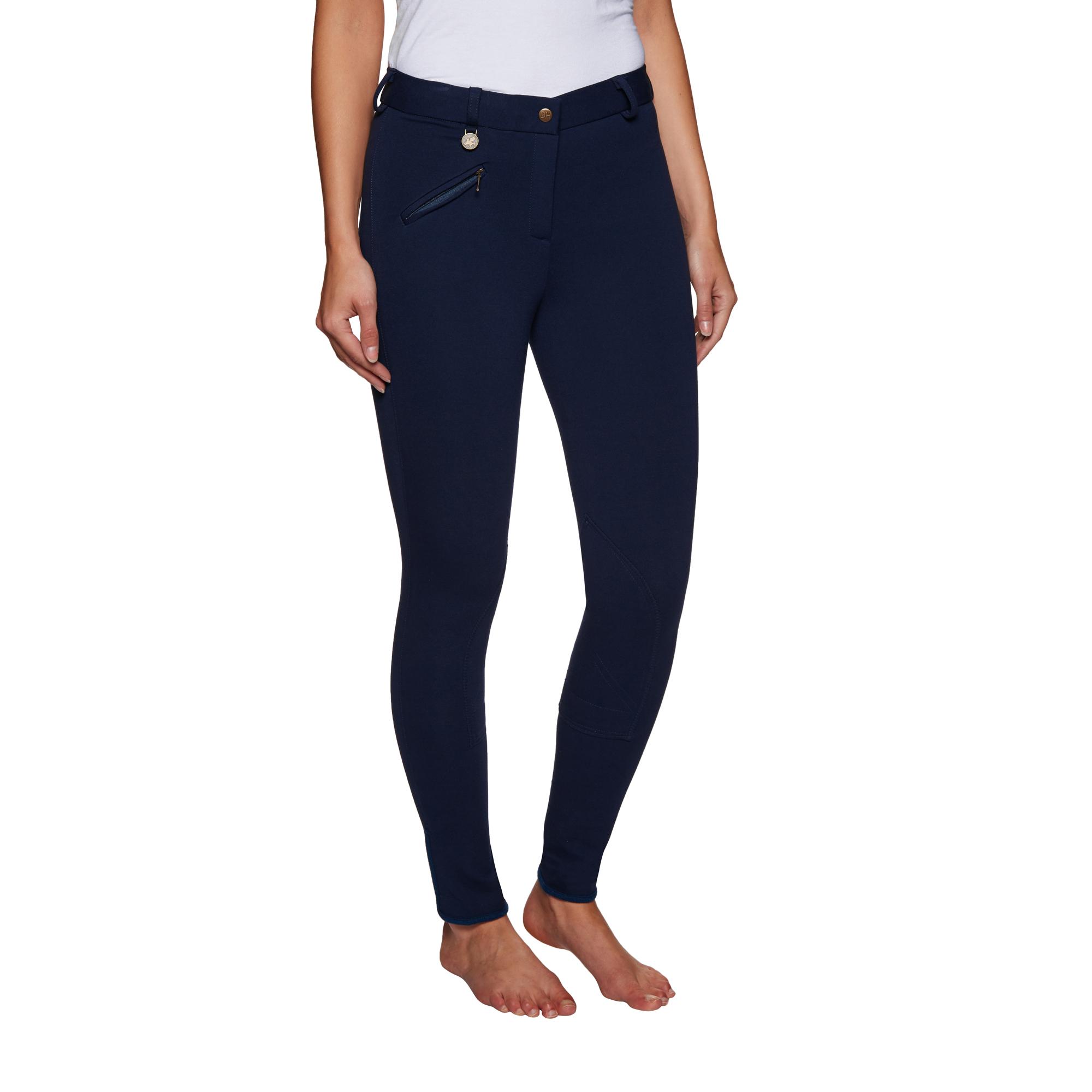 Firefoot Farsley Collant Bum Femme Pantalon D/'équitation Culotte-Bleu Marine Toutes Les Tailles