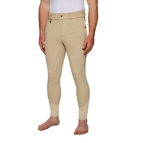 Derby House Elite Mens Riding Breeches - Beige