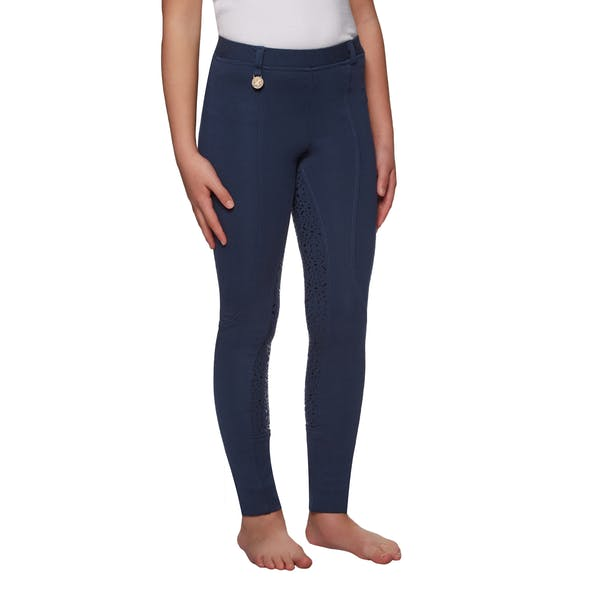 Derby House Gel Full Seat Childrens Riding Tights