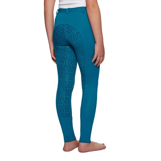 Derby House Gel Full Seat Kids Riding Tights