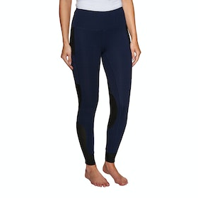Derby House Elite Ladies Riding Tights - Navy