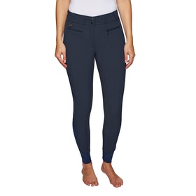 Derby House Elite High Waist Full Seat Ladies Riding Breeches - Navy