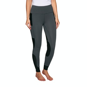 Derby House Elite Ladies Riding Tights - Grey