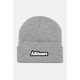Alltimers Broadway Rubber Beanie - Heather Grey